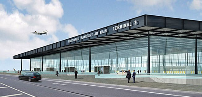Abfluggate Frankfurt