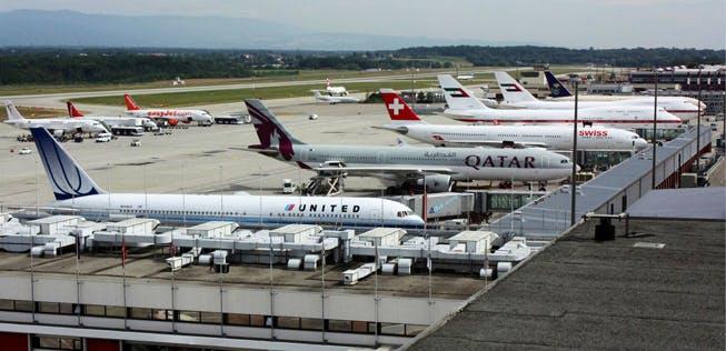 Flughafen Genf Abflüge