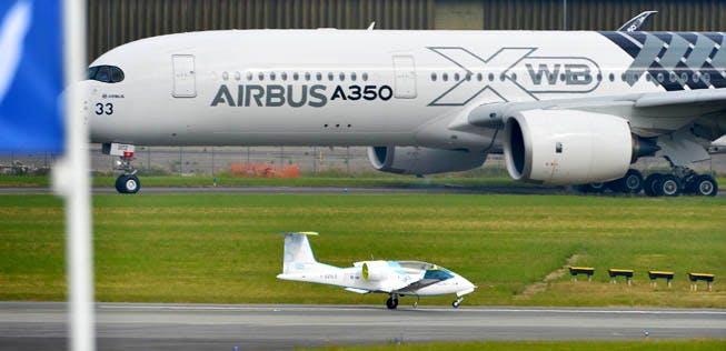 airbus elektroflugzeug
