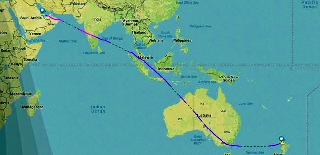 Längster Flug der Welt: Überlebt man fast 18 Stunden in der ...