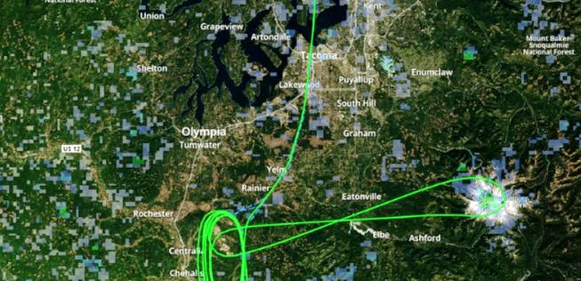 Alaska Airlines: Panoramaflug statt Warteschleife ...