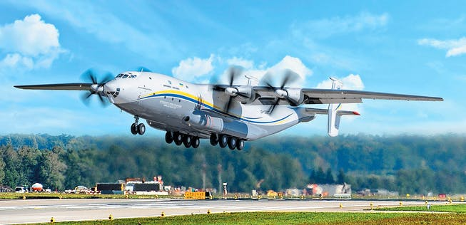 Antonov An-22: World's largest turboprop aircraft is up in the air again |  aeroTELEGRAPH
