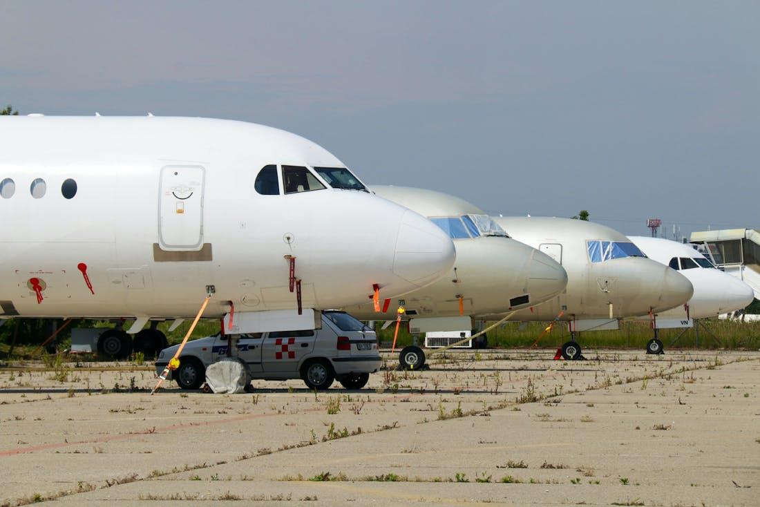 Flugzeug Probleme
