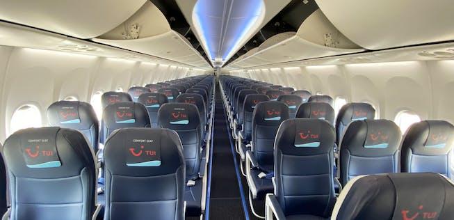 800 tuifly sitzabstand boeing 737 Tuifly bietet